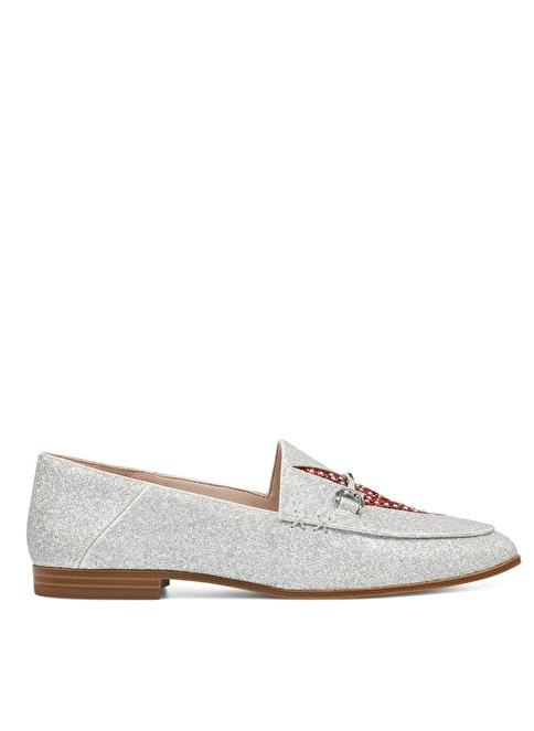 Nine West Loafer Ayakkabı Gümüş